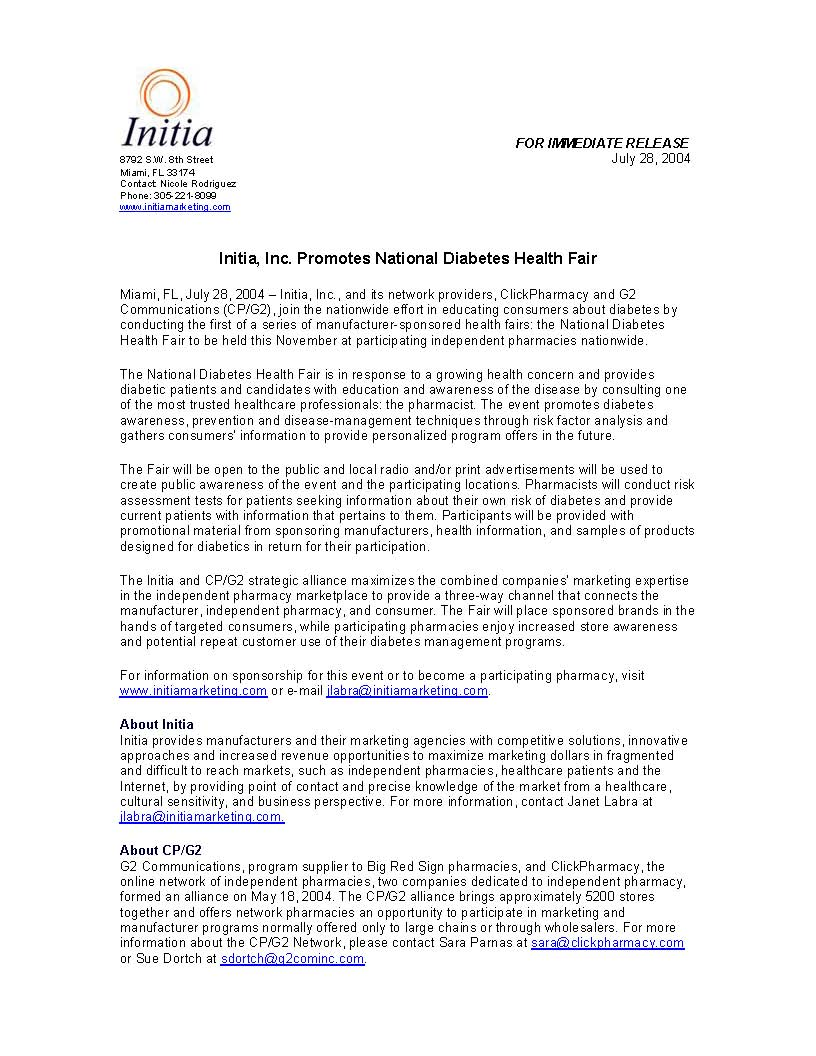 initia-promotes-natl-diabetes-fair
